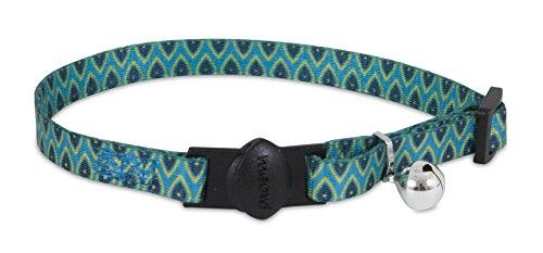Aspen Pet Breakaway Fashion Collar, 3/8″ x 8-12″, Sub Geo Blue