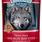 BLUE Wilderness Trail Treats Grain-Free Salmon Biscuits Dog Treats 10-oz