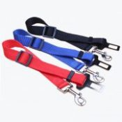 Pet Cat Dog Safety Vehicle Car Seat Belt Travel Dog Accessories Clip Lead Restraint Harness traction New Adjustable lead30