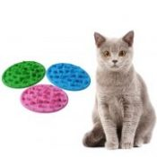 Pet Food Bowl Interactive Feeder Digestion Puzzle Bowl Slow Food Anti Choke Interactive Slow Feeding Feeder For Dogs Cats 16