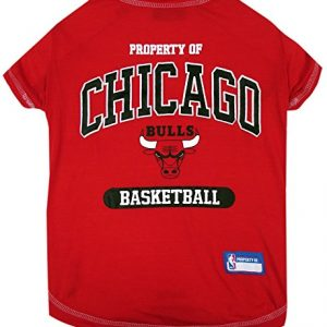 NBA CHICAGO BULLS Dog T-Shirt, X-Small
