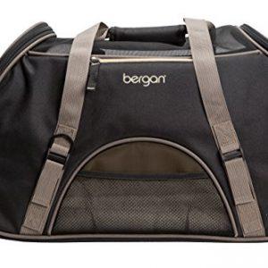 Bergan Comfort Carrier, Large, Black & Brown