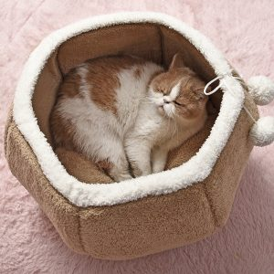 Cozy Bed For Cats and Dogs House For Cats Chinchilla Cage Ferret Kitten Nest Rat...